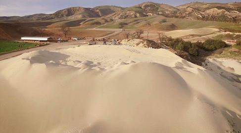 16 Sand Pile Aerial 2