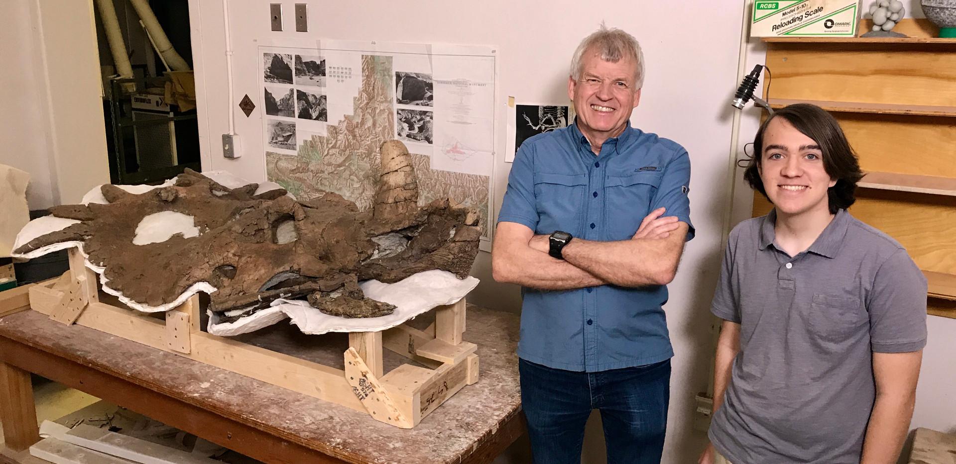 Paleontologist Phil Currie