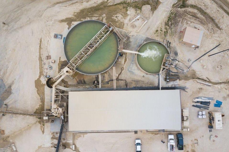 Slurry Plant Aerial 2