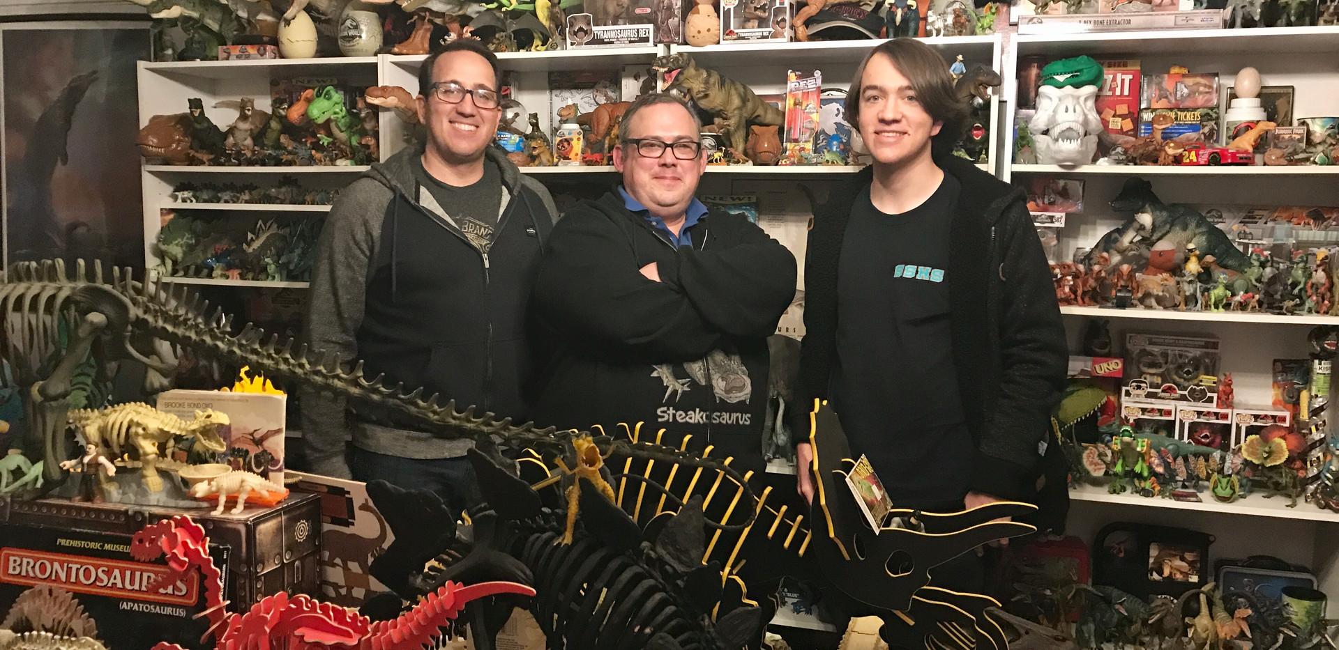 The Dinogeek - World's Largest Collection of Dinosaur Memorabilia