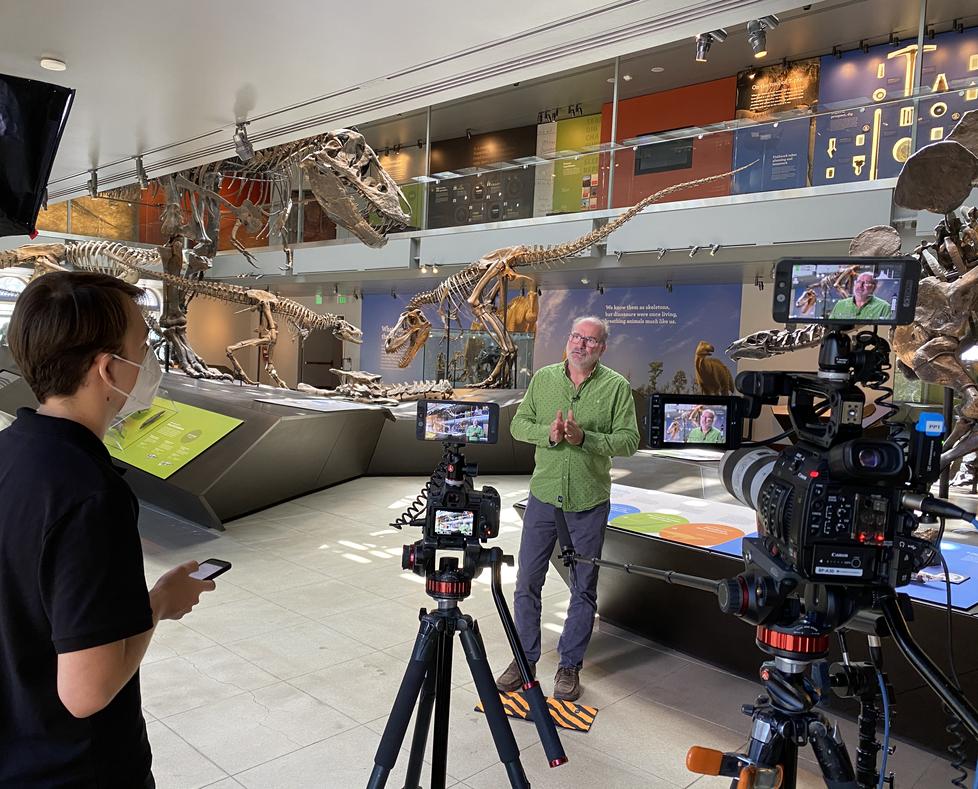 Paleontologist Luis Chiappe - Natural Hi