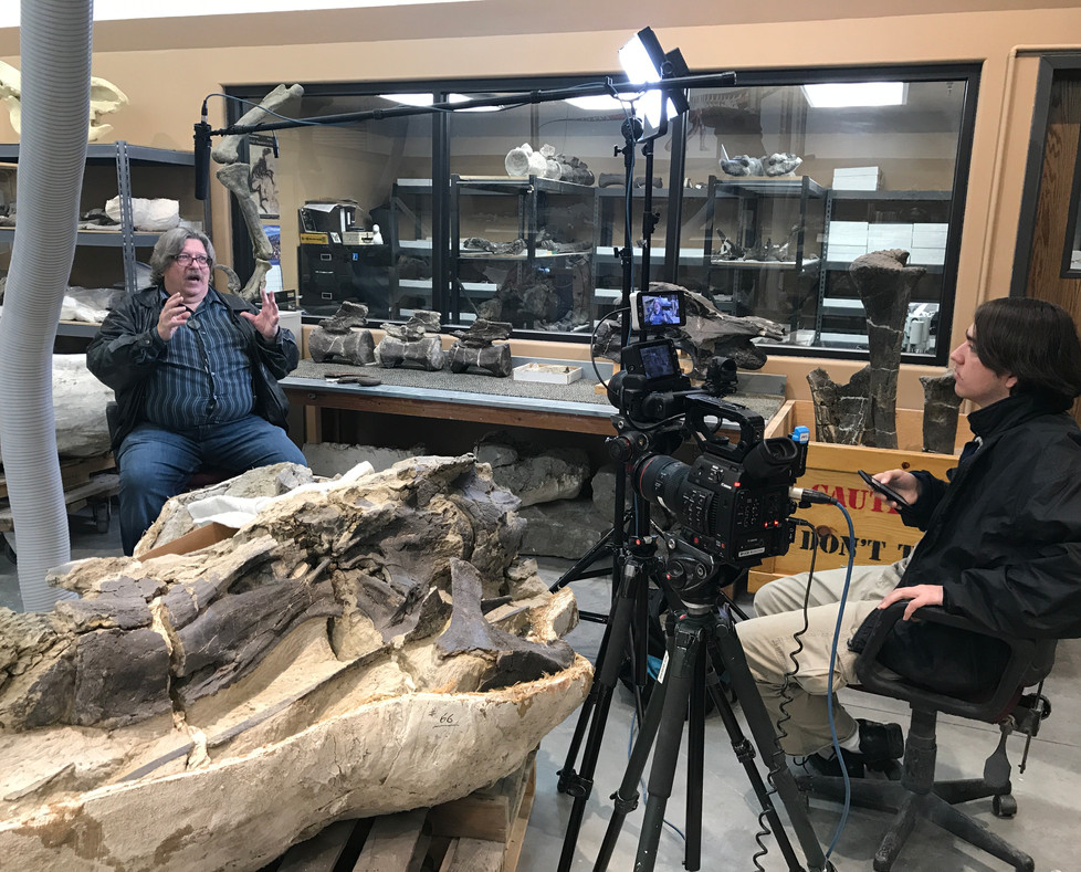 Paleontologist Jim Kirkland