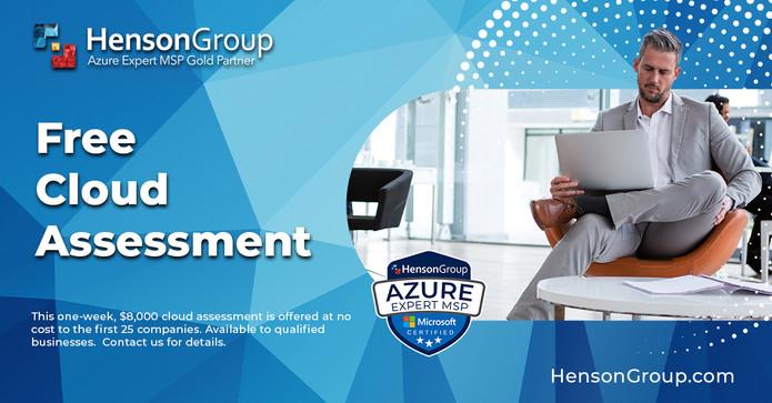 Henson-Group---Ad---Free-Cloud-Assessmen