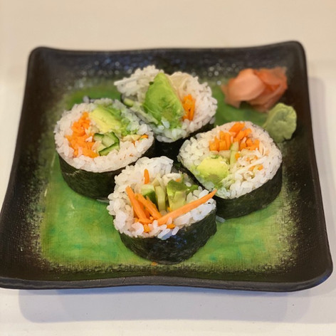 Veggie Salad Roll  $5.00