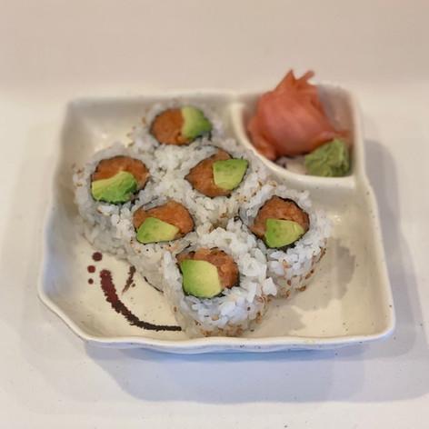 Salmon Avocado Roll  $6.00
