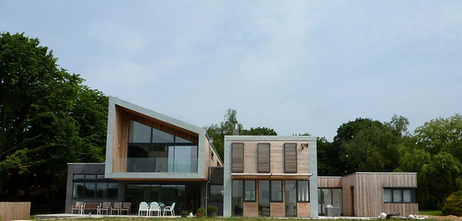 Photo of completed bespoke residential project in Hertforshire
