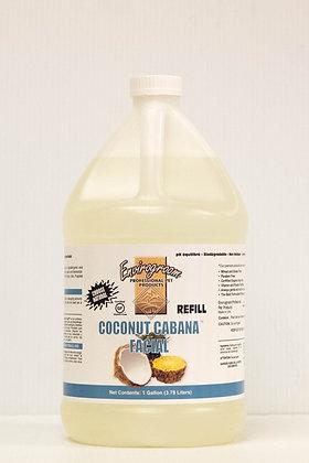 Coconut Cabana Facial Gallon