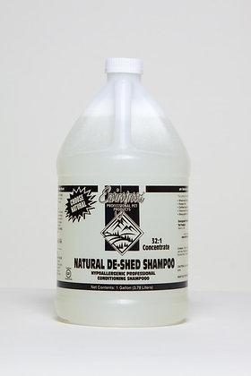Natural De-Shed Shampoo Gallon