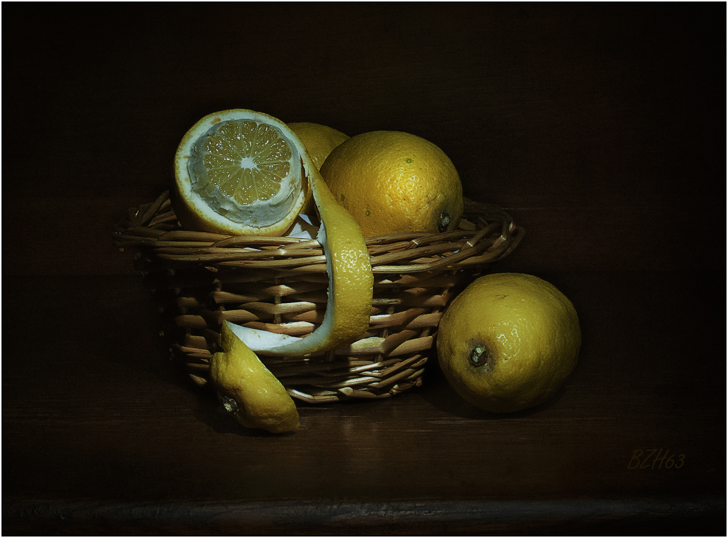 Citrons, composition