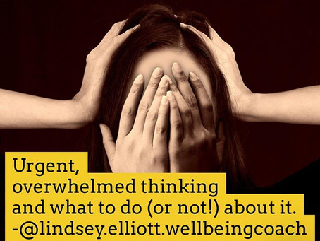 Urgent thinking
