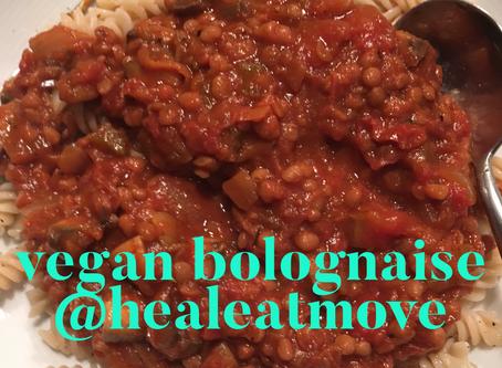 Vegan Bolonaise