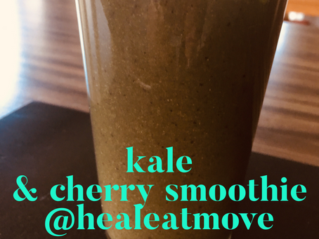 Kale & Cherry Smoothie