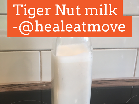 How to make Tiger Nut 'Milk'