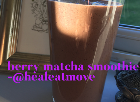 Berry Matcha Smoothie