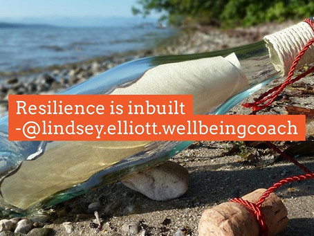 Resilience is inbuilt