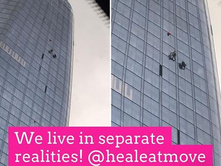 We live in separate realities