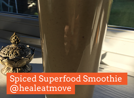 Spiced Superfood Smoothie