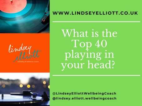 What is the Top 40 playing in your head?