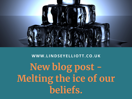 Melting the ice of our beliefs.