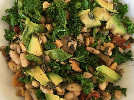 Kale and Bean lunch