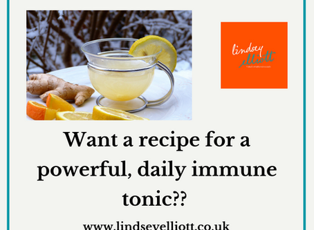 Powerful, daily immune support tonic.