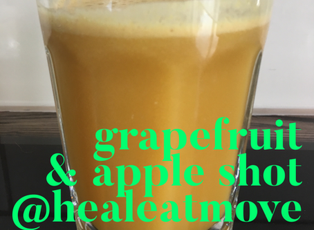 Grapefruit & Apple shot