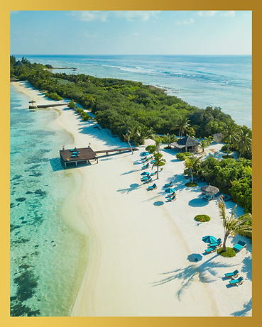 Aerial view of Canareef Resort Maldives, Herathera island_GettyImages-961525630.png