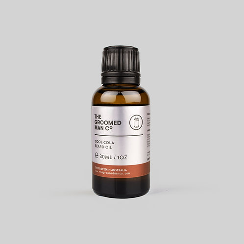 The Groomed Man Co - Cool Cola Beard Oil