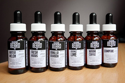 Melbourne Beard Oil - Fresh Woods Beard Oil