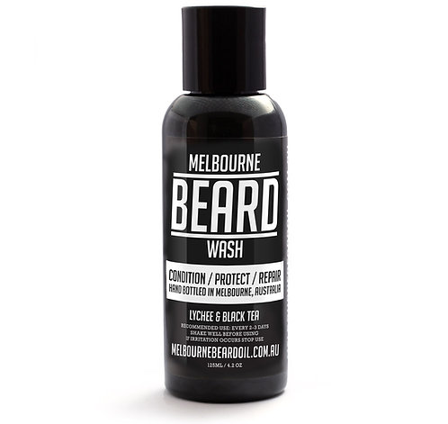 Melbourne Beard Wash - Lychee & Black Tea)