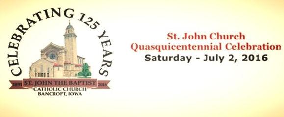 Saint John's Church Quasquicentennial Celebraion banner
