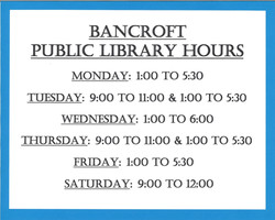 Library hours 2021