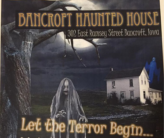 Bancrft Haunted House 2017 Flye