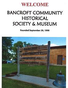 Bancroft Historical Museum