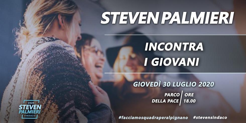 Steven Palmieri incontra i giovani Alpignanesi