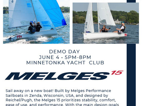 Melges 15 Demo Day - Friday, June 4 @ 5 - 8PM