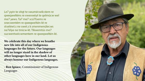 Call to Action #15 - Aboriginal Languages Commissioner