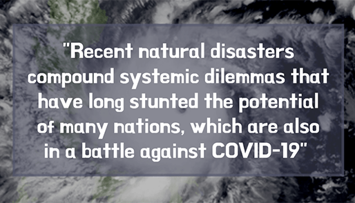 NGOs worldwide urge donor countries to increase aid in time of COVID-19 and disasters