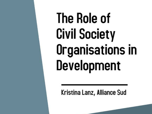 The role of civil society organisations in development