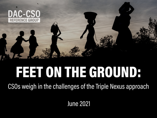 Feet on the Ground: CSOs weigh in the challenges of the Triple Nexus approach
