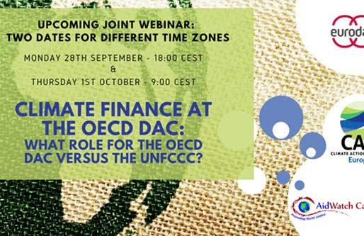 Webinar Invite: Climate Finance at the OECD-DAC