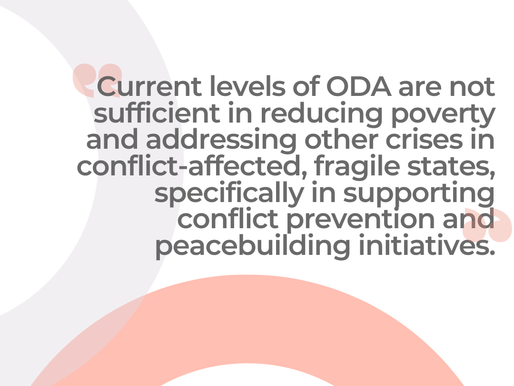 On Conflict and Fragility and the Importance of Peace in the Triple Nexus