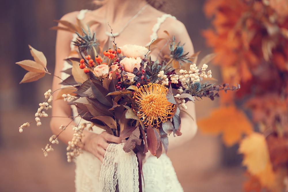 Herbststrauß Herbsthochzeit Wedding Wiesbaden