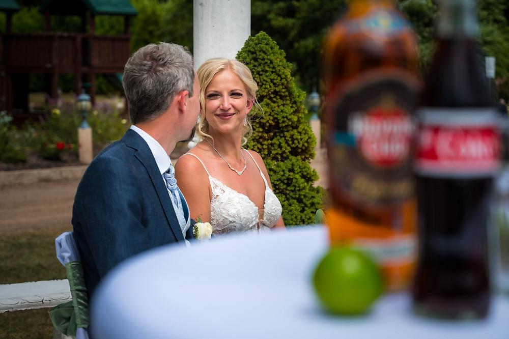 Brautpaar bei der freien Trauung von Stefanie Burger Rhein-Main-Gebiet
