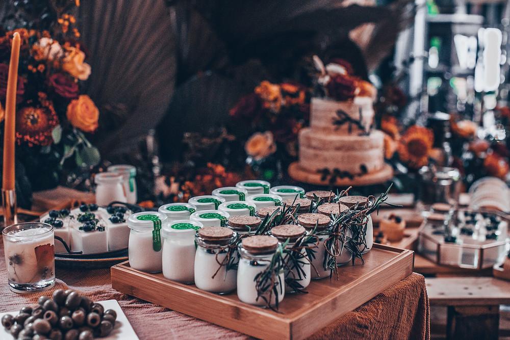 Herbsthochzeit Kuchenbuffet Candybar Wedding Wiesbaden