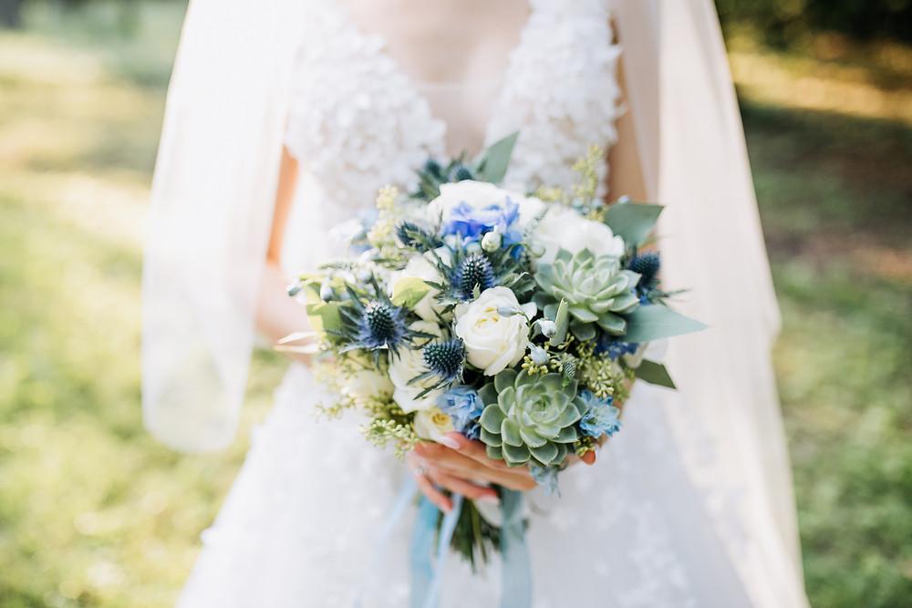 Brautstrauß Sukkulenten Wedding Wiesbaden