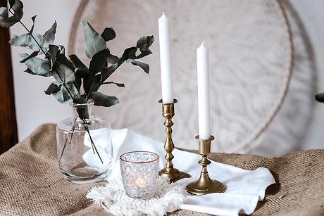 Kerzenhalter Messing Mrs. Deko