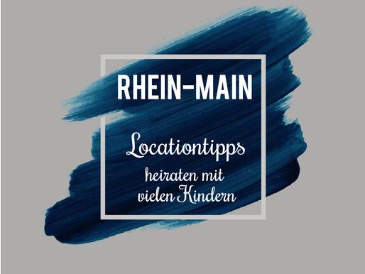 Locationtipps - für eine familienfreundliche Hochzeit mit vielen Kindern (Rhein-Main & Rheinhessen)