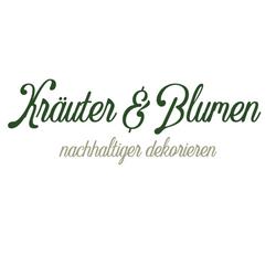 Kräuter meets Blumen_nachhaltiger dekori