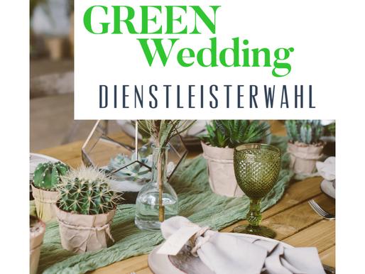 #3 Green Wedding - Dienstleisterauswahl